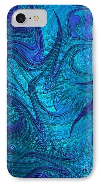 Turbulence IPhone Case by John Edwards
