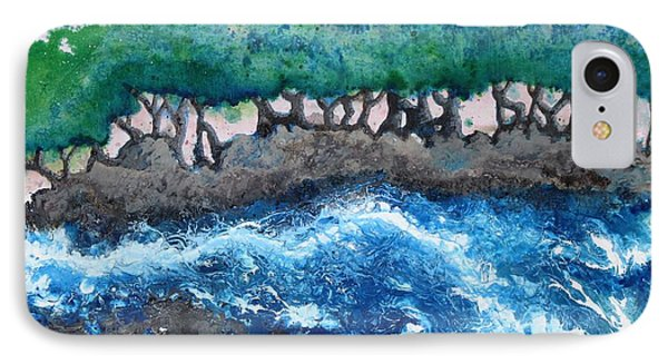 Turbulent Waters IPhone Case by Antonio Romero