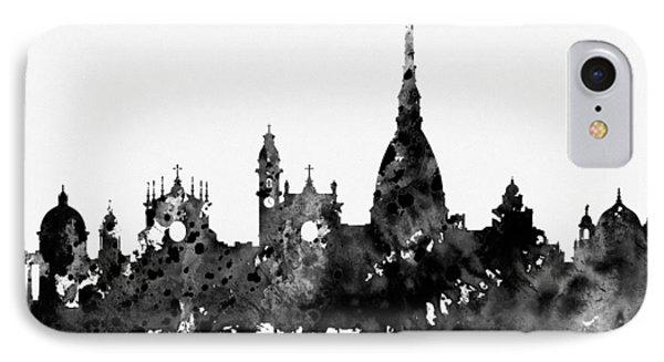 Turin Skyline IPhone Case by Erzebet S