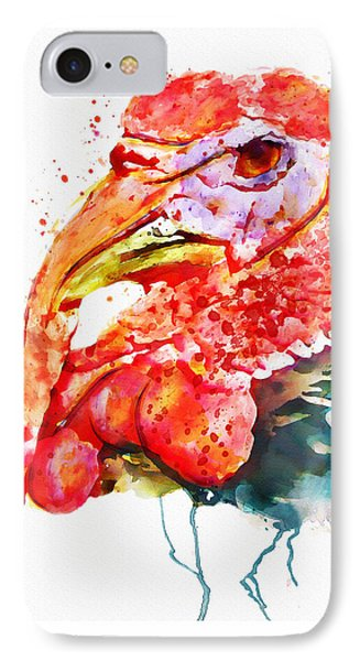 Turkey Head IPhone Case by Marian Voicu