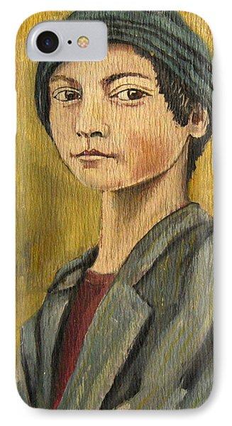 Turkish Boy IPhone Case by John Keaton