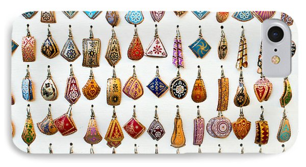 Turkish Earrings IPhone Case by Tom Gowanlock