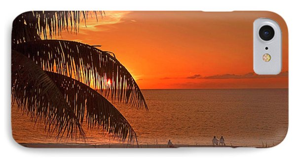 Turks And Caicos Sunset Phone Case by Stephen Anderson