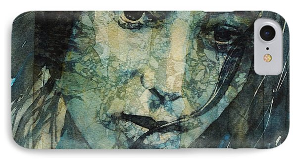Turn Down These Voices Inside My Head IPhone Case by Paul Lovering