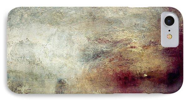 Turner: Sun Setting, C1840 Phone Case by Granger