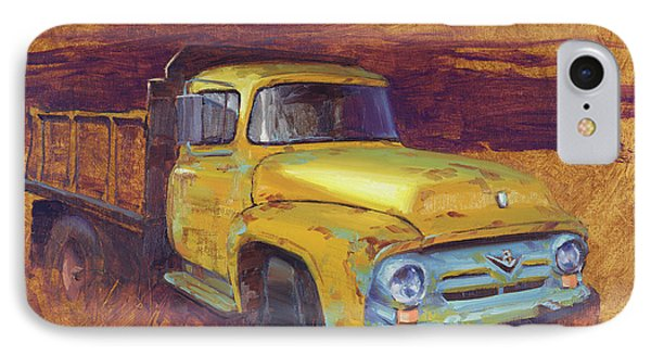 Truck iPhone 7 Case - Turning Into The Light by Cody DeLong