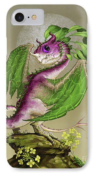 Turnip Dragon IPhone Case by Stanley Morrison
