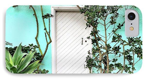 Turqoiuse Wall IPhone Case by Julie Gebhardt