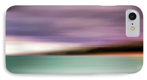 Turquoise Waters Blurred Abstract IPhone Case