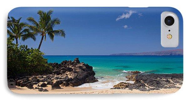 Turquoise At Secret Beach Makena IPhone Case