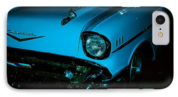 Turquoise Chevy Phone Case by DigiArt Diaries by Vicky B Fuller
