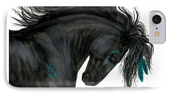 Turquoise Dreamer Horse IPhone Case