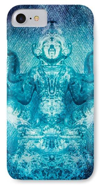 Turquoise Goddess IPhone Case