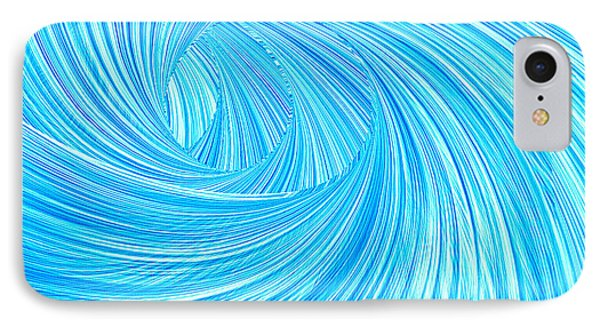 Turquoise Rays IPhone Case by Lourry Legarde