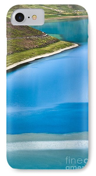 Turquoise Water Phone Case by Hitendra SINKAR