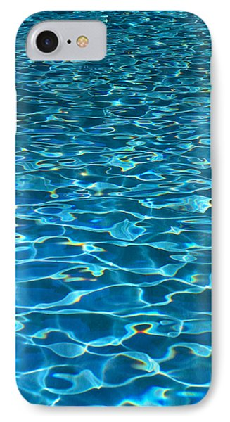 Turquoise Water Ripples Phone Case by Kyle Rothenborg - Printscapes