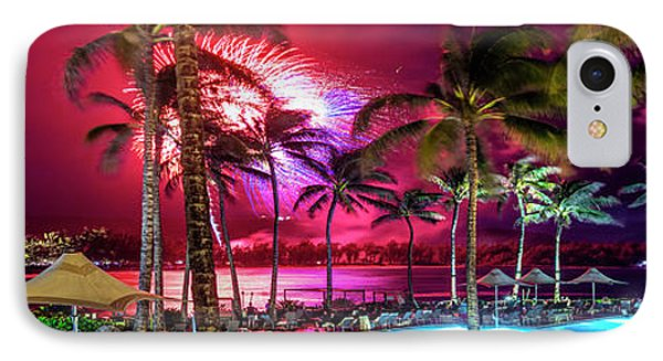 Turtle Bay - Independence Day IPhone Case by Sean Davey