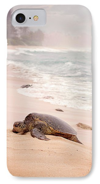 IPhone Case featuring the photograph Turtle Beach by Heather Applegate