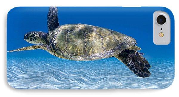 Turtle Flight -  Part 2 Of 3  IPhone 7 Case by Sean Davey