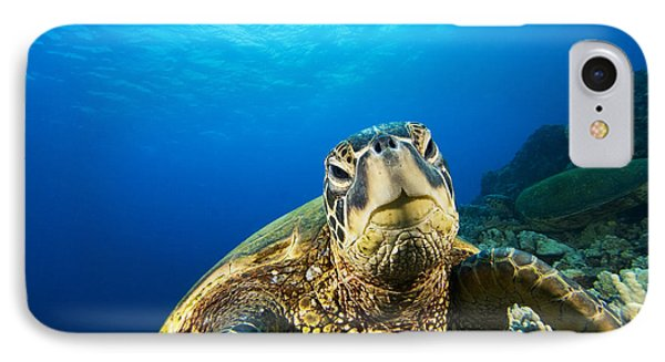 Turtle Stare Phone Case by Dave Fleetham - Printscapes