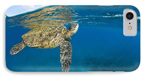 Turtle Taking A Breath Phone Case by Dave Fleetham - Printscapes