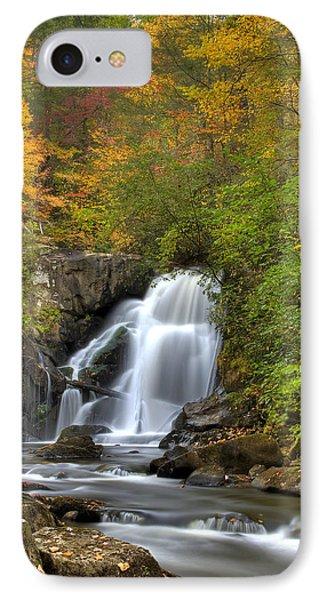 Turtletown Creek Falls Phone Case by Debra and Dave Vanderlaan