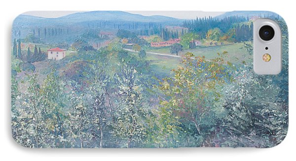 Tuscan Landscape IPhone Case by Jan Matson