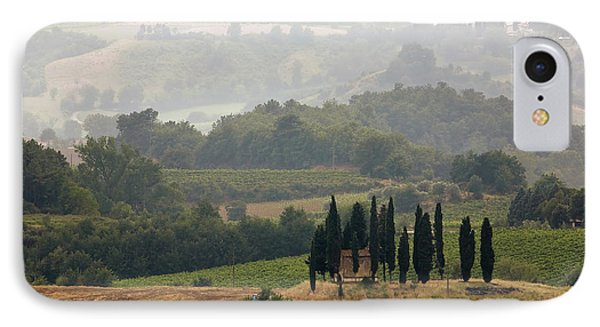 IPhone Case featuring the photograph Tuscan Landscape by Stefan Nielsen