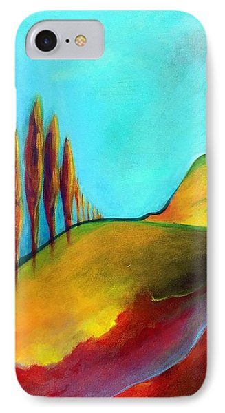 Tuscan Sentinels IPhone Case by Elizabeth Fontaine-Barr