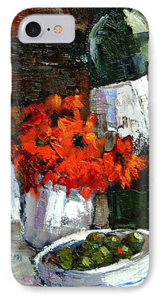 Tuscan Table IPhone Case by Carole Foret