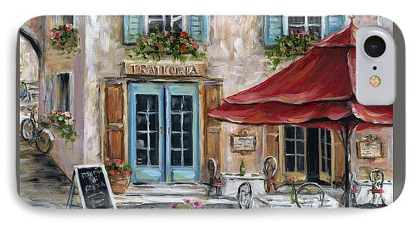 Tuscan Trattoria Square IPhone Case by Marilyn Dunlap