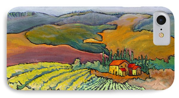 Tuscan Vineyard IPhone Case by Mohamed Hirji