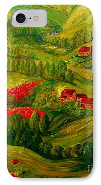 Tuscany At Dawn Phone Case by Eloise Schneider