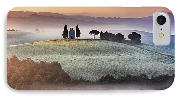 Tuscany Church On The Hill Phone Case by Evgeni Dinev