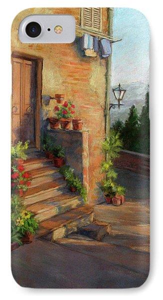 Tuscany Morning Light IPhone Case