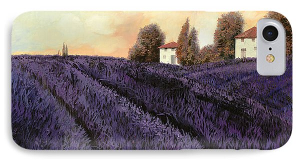 Tutta Lavanda IPhone Case by Guido Borelli