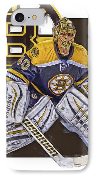 Tuukka Rask Boston Bruins Oil Art 1 IPhone Case