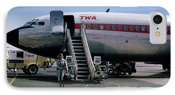 Twa Boeing 707, August 1965 IPhone Case by Wernher Krutein
