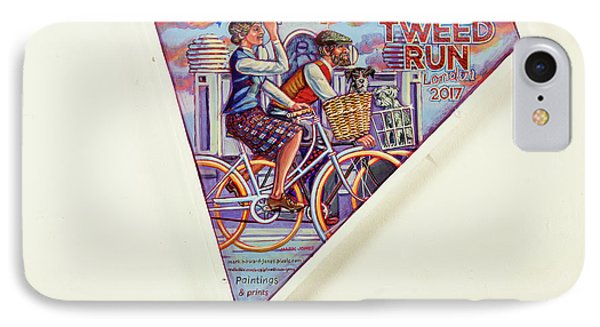 Tweed Run London Princess And Guvnor  IPhone Case by Mark Jones