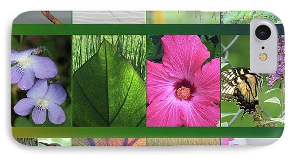 IPhone Case featuring the photograph Twelve Months Of Nature by Peg Toliver