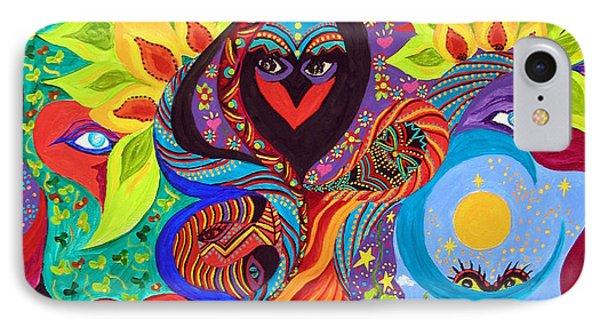 Lovebirds IPhone Case by Marina Petro