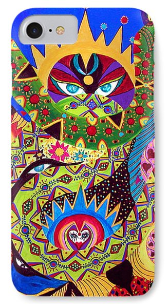 IPhone Case featuring the painting Serpent's Dance by Marina Petro