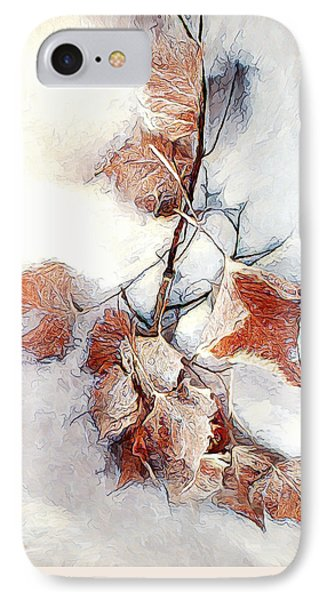IPhone Case featuring the photograph Twigged by Pennie  McCracken