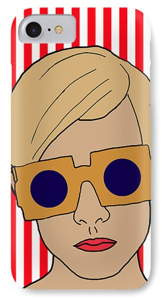 Twiggy IPhone Case by Nicole Wilson