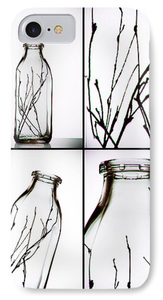Twigs - Four Panel IPhone Case by Tom Mc Nemar