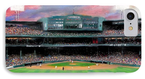 Twilight At Fenway Park IPhone 7 Case by Jack Skinner