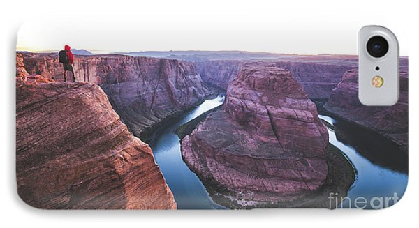 Twilight At Horseshoe Bend IPhone Case by JR Photography