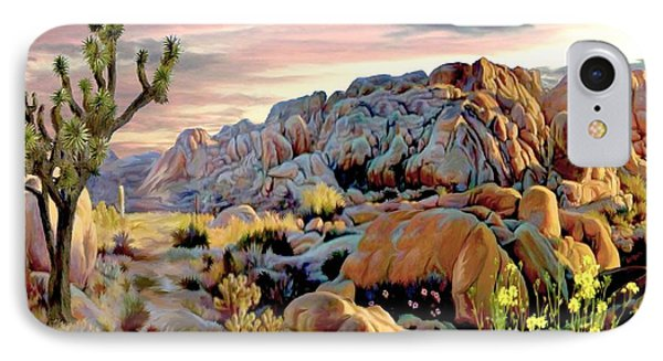 Twilight At Joshua IPhone Case by Ron Chambers