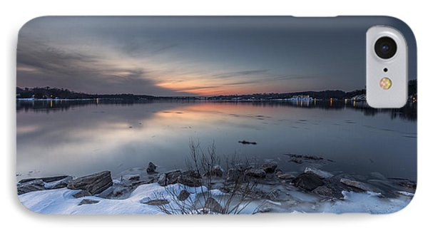 IPhone Case featuring the photograph Twilight by Edward Kreis