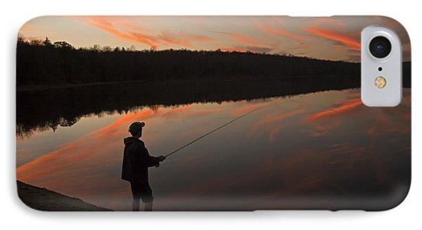 Twilight Fishing Delight IPhone Case